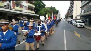 SOUTH AFRICA - Pretoria - State of the Capital parade (videos) (495)