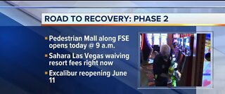 Casinos can stat reopening tomorrow.