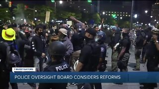 Police oversight board considers reforms
