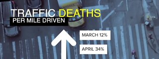 People driving less, but deadly crashes are up