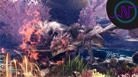 Pink Rathian - High Rank Monster Showcase - Monster Hunter World