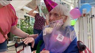 Milwaukee woman celebrates 107th birthday with a special celebration