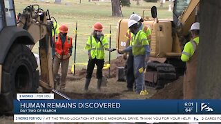 Human remains discovered