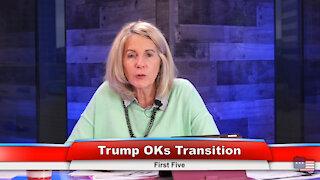 Trump OKs Transition
