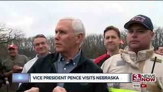 Vice President Pence visits Nebraska