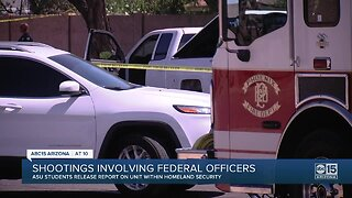 ASU students release report on shootings involving federal officers