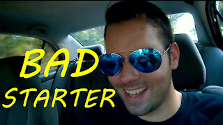 Starting a car with a bad starter