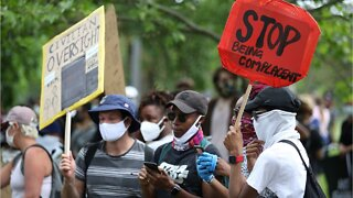 Protests Worldwide Support 'Black Lives Matter' Movement