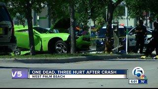Man dies in West Palm Beach vehicle crash