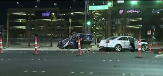 Nevada Highway Patrol officer in crash