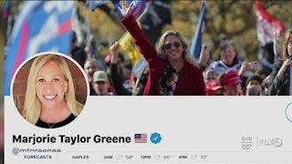Twitter to suspend Marjorie Taylor Greene