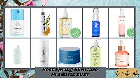 The Teelie Blog | Best Spring Skincare Products 2021 | Teelie Turner
