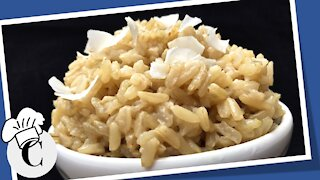 How to Make Coconut Rice in a Rice Cooker! An Easy, Healthy Recipe!