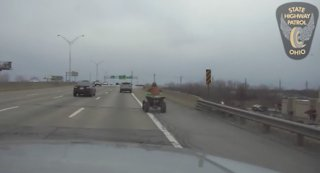 4-wheeler leads Ohio State Highway Patrol on chase