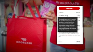 DoorDash adds Cleveland fee after city caps delivery fees
