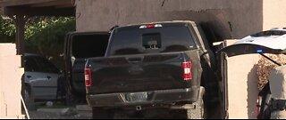Las Vegas police: Truck crashes into house