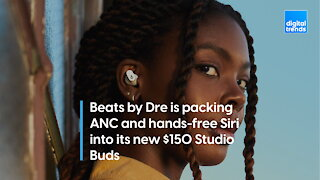 Beats by Dre is packing ANC and hands-free Siri into its new $150 Studio Buds