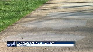 Trail of hateful graffiti found in Greenfield