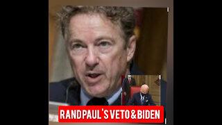 Rand Paul veto & Biden