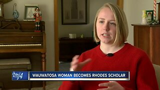 'I was just completely shocked:' Wauwatosa woman becomes Rhodes Scholar