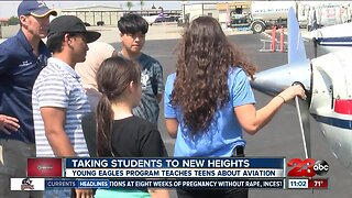 Young Eagles Program takes teenagers to new heights with aviation