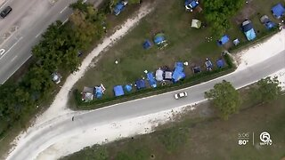 Palm Beach County commissioners approve relocation of homeless from John Prince Park