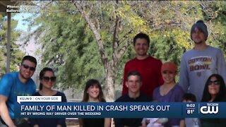 20-year-old dies in wrong-way crash