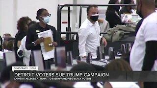 Michigan organization sue Trump Campaign