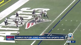 Darius Butler joins Paxton Boyd on Honda Five Sports Live
