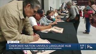 Cherokee Nation unveils language hub