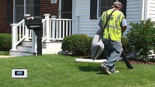 Crews clean up neighborhood following demolition