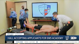 Kern Back in Business: Hall Ambulance accepting applicants for EMS academy