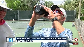 Rising heat index raises concerns over heat exhaustion in SWFL