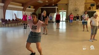 Line dance instructor continues classes during pandemic