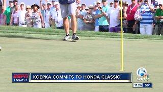 Brooks Koepka commits to 2020 Honda Classic