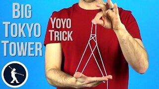 Big Tokyo Tower Yoyo Trick - Learn How