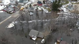 Severe flooding in Columbus, Dodge County