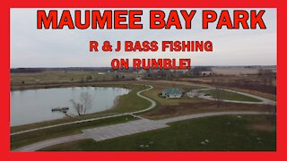 Maumee Bay State Park Lake Erie Aerial View