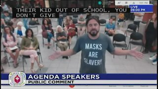 Palm Beach County Mask Debate Part 2