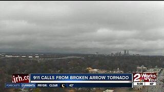 911 calls from Broken Arrow Tornado