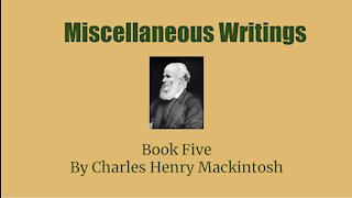 Miscellaneous Writings of CHM Book 5 Glad Tidings Audio Book