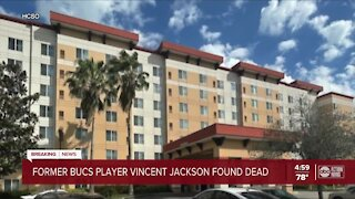 Former Bucs player Vincent Jackson found dead in hotel room