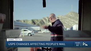 USPS changes and absentee ballot impact