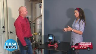 Tulsa Today: Mullin Plumbing - Checking drains