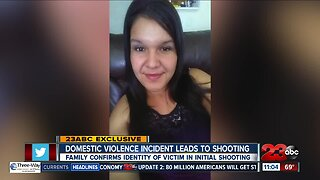 Domestic violence leads to shooting