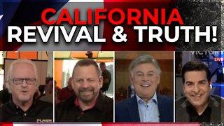 Flashpoint: California REVIVAL & TRUTH! Mario Murillo, Hank Kunneman, Lance Wallnau (April 20, 2021)