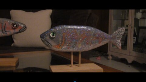 2x4 wood fish