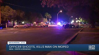 Mesa police involved in deadly shooting after stopping moped