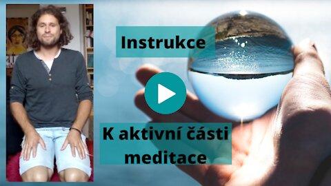Instrukce k poslechu meditace druhé čakry - aktivní část