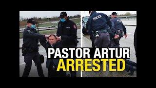 The Canadian Pastor Artur arrested.